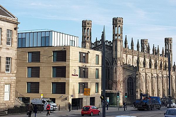 New Premier Inn completed York Place Edinburgh