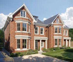 Residential new builds Copse Hill Wimbledon